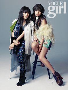 미쓰에이, 수지 & 지아 Vogue Girl 한국, 2012년 11월 (Miss-A, Suzy & Jia in Vogue Girl Korea, November 2012)