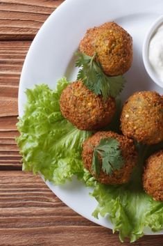 These tasty falafels are delicious served in pitta bread with a salad and Greek yoghurt...