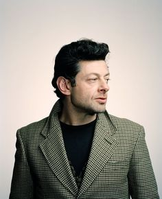 Andy Serkis. Actually a brilliant actor... why The Academy hasn't recognized him yet??