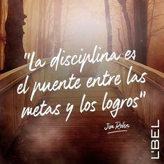 La disciplina es lo que te llevara al exito! #YoSoyLBEL #frases #motivación #lbel #lbelonline #lbelusa #frasedeldía