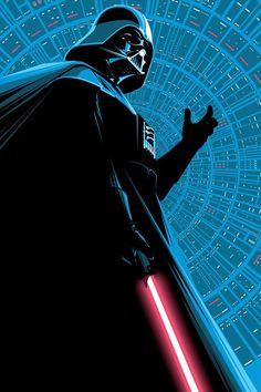 Darth Vader art by Craig Drake