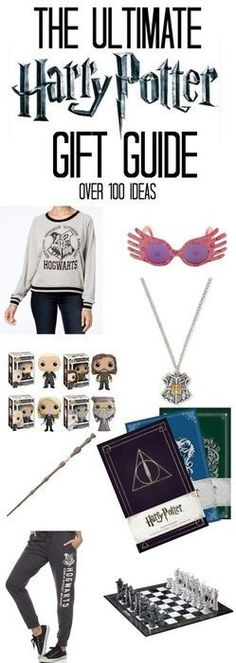 The ultimate Harry Potter gift guide! This is fantastic! #harrypotter #hogwarts #giftideas #marauders #jkrowling #fantasy #ad #gryffindor #hufflepuff #ravenclaw #slytherin