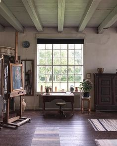 """""""Inspiring visit to the home of Danish painter Sigurd Swane and his family…"""