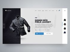 Dribbble - Product Page by Matt Thompson