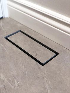 Aria Vent presents its Flushmount Pro air register for use anywhere—floors, walls, ceilings—with any surface material. The air vent has optimal air flow performance, and can be regulated by sliding tray and accessing flanges that open and close. Both child and pet proof, the vent catches items and stops them from falling into the ducts as well as lays flat with no crevices so nothing can get caught. Air vents come in one color and size: 4 by 10 in. and matte black.