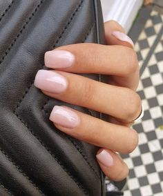 Elena on no need to caption the shade opi opinails nails uas uasdegel nailsaddict bubblebath diy dip powder nails Get Nails, Hair And Nails, Milky Nails, Nagellack Trends, Manicure Y Pedicure, Gel French Manicure, Manicure Ideas, Mani Pedi, Dipped Nails