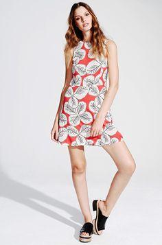 Sommerliches Etuikleid mit Blumenprint von KALA Fashion