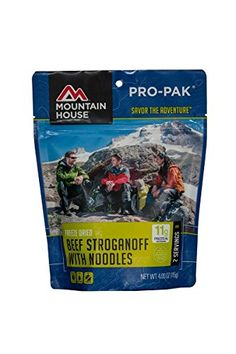 Mountain House Beef Stroganoff with Noodles Pro-Pak 2-Pack