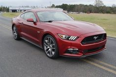 New 2015 Ford Mustang #Mustang #Ford #new #redcar
