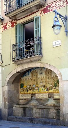 Font de Portaferrissa, Barcelona http://www.pinterest.com/mounthagen/everyones-creative-travel-spot/