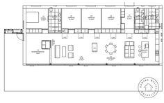 Plattegrond transformatie bungalow