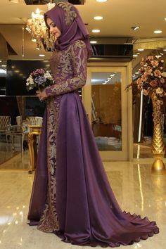 Pınar Şems - Tılsım Abiye Lila
