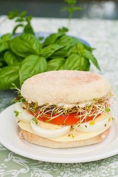 egg salad sandwich by kokocooks, via Flickr