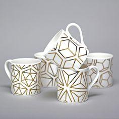 alfred and wilde fine bone china mugs