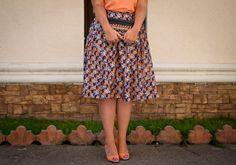 skirt, print
