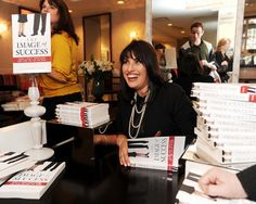 Lizandra Vega Signs Books at The Image of Success Launch Event, Hosted by Saks Fifth Avenue