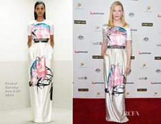 Cate Blanchett In Prabal Gurung – G'Day USA Los Angeles Black Tie Gala