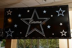 Star Themed Bat Mitzvah Sign - BAT MITZVAHS