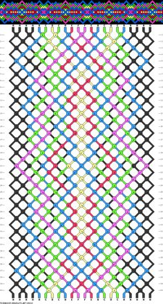22 strings 40 rows 6 colors