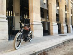 Royal Roadster at Palais Royal Palais Royal, Electric Bicycle, High Class, New Experience, French, Paris, Electric Push Bike, Montmartre Paris, French People