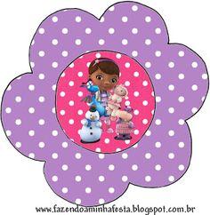 Doutora Brinquedos (Doc Mcstuffins) - Kit Completo com molduras para convites…                                                                                                                                                     Mais