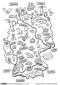 Deutschland - Deutschlandkarte - Wittenburg