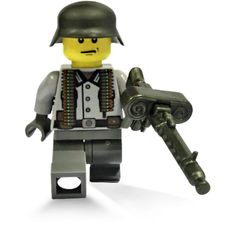 BrickArms Soldiers...all LEGO compatiable. Great fun for those into World Wars and LEGO!  Sold at www.gibrick.com