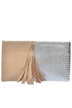 Color Block Snake Skin Clutch  http://messyegyrlz.mysupadupa.com/collections/bags-galore-purses-clutches-handbags-messengers-backpacks-totes-etc-we-got-it-all/products/color-block-snake-skin-clutch