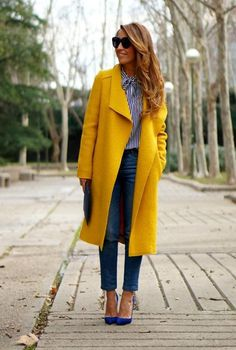 16 mejores imágenes de Abrigo amarillo 41e8dc6695e7