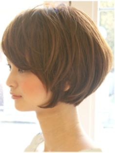 Pin on ヘア Pin on ヘア Haircuts For Medium Length Hair, Chin Length Hair, Bob Haircut With Bangs, Haircuts For Fine Hair, Short Bob Hairstyles, Hairstyles Haircuts, Korean Hairstyles, Asian Short Hair, Short Grey Hair