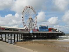 Blackpool, central pier Blackpool, Fair Grounds, England, Culture, Building, Travel, Image, Viajes, Buildings