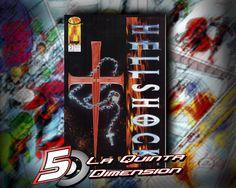 HELLSHOCK # 2 HISTORIA Y ARTE DE JAE LEE, 1994 $ 70.00 Para más información, contáctanos en http://www.facebook.com/la5aDimension