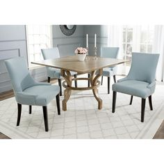 Safavieh Ludlow Oak Square Dining Table - Overstock Shopping - Great Deals on Safavieh Dining Tables