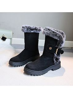 Individual flat with thick bottom and velvet warm snow boots Find latest women's clothing, dresses, tops, outerwear, and other fashion clothing and enjoy the worldwide shipping # Thigh High Boots Flat, Flat Boots, Warm Snow Boots, Snow Boots Women, Boot Shop, Summer Dresses For Women, Ankle Straps, Buy Shoes, Low Heels