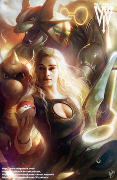 Insidific — geekthegeek:   mother of dragon 2 by wizyakuza