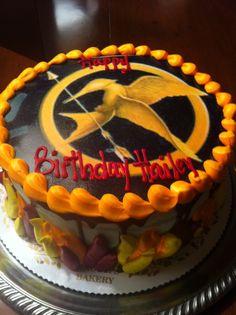 My friends Hunger Games birthday cake