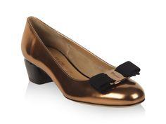 Customize your iconic Vara pump at www.Ferragamo.com