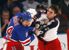 We all need an enforcer, someone who will step up when someone else throws down. My favorite is the Honorable Jared Boll.