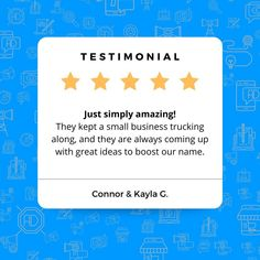That's what we like to hear! 😄 It's incredibly valuable to stay organized when running marketing campaigns. It helps planning, strategizing, and just coming up with new ideas that much easier. Thank you very much, Connor and Kayla, for the wonderful review!