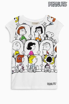 Buy White Peanuts Snoopy T-Shirt (3-16yrs) from the Next UK online shop