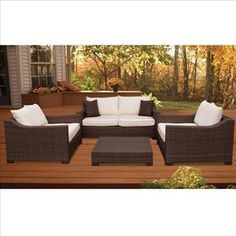 Nebraska Furniture Mart – International Home Miami Oxford 4-Piece Living Set