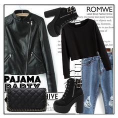 """Romwe 8"" by amrafashion ❤ liked on Polyvore"