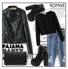 """Romwe 8"" by amrafashion ❤ liked on Polyvore"