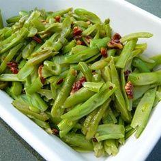 Buttery Pecan Green Beans - Allrecipes.com