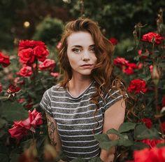 flores - rosas - retrato - retratos femininos - ensaio feminino - ensaio externo - fotografia - ensaio fotográfico - book
