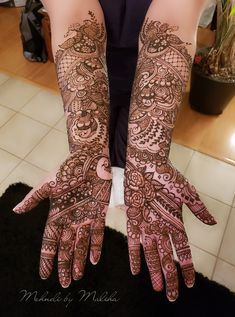 Full Indian bridal mehndi