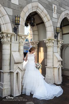 Celebrate the most magical day of your life in charming New Fantasyland at Disney's Magic Kingdom. Photo: Joe, Disney Fine Art Photography
