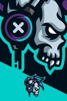 Fiverr freelancer will provide Logo Design services and design a original esport, gaming, twitch, mascot logo including # of Initial Concepts Included within 4 days Team Logo Design, Logo Desing, Mascot Design, Skull Logo, Skull Art, Lion Illustration, Esports Logo, E Sport, Game Logo