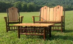 Cedar Outdoor Rockers, Hickory Rocking Chairs, Amish Rockers and Log Furniture, Outdoor Furniture, Guest Cabin, Bent Wood, Outdoor Chairs, Outdoor Decor, Rocking Chairs, Rockers, Amish