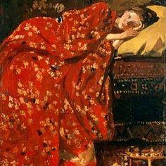 """68 Likes, 1 Comments - The Feminine Unique (@khaite_ny) on Instagram: """"Georg Hendrik Breitner, The Red Kimono"""""""